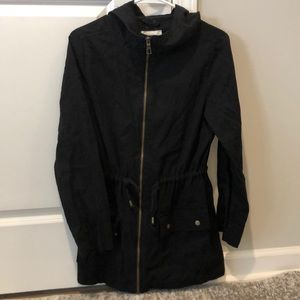 Old Navy cotton hooded utility jacket